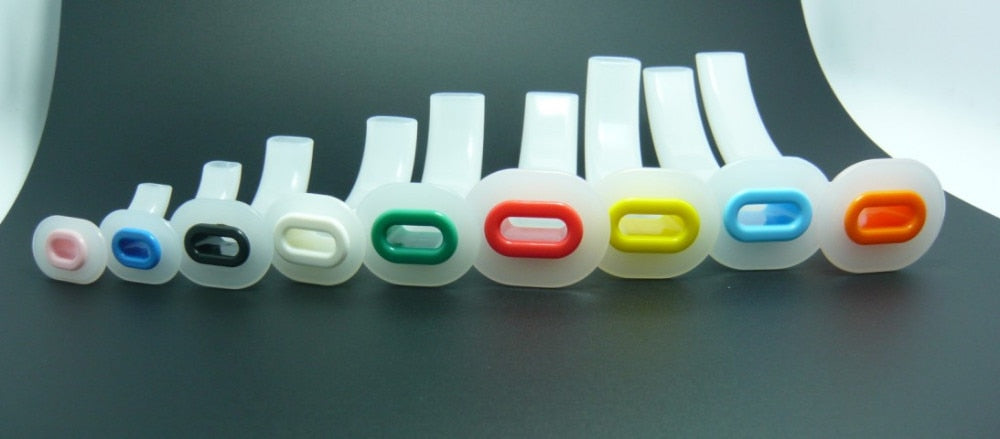 9pcs/lot Disposable Oral Guedel Airway Tube for Cpr