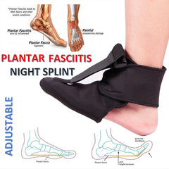 Adjustable Plantar Fasciitis Night Splint
