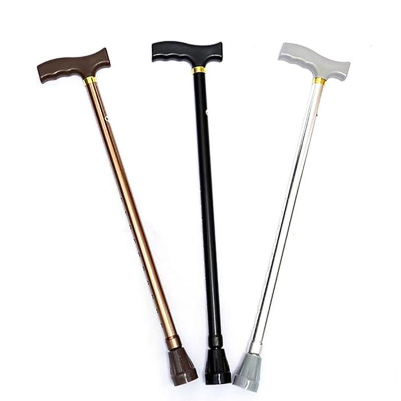 Crutch Non-slip Retractable Single Walking Stick