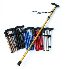 Non-slip Elderly Adjustable Crutch