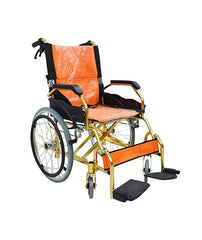 Aluminum alloy ultra light manual wheelchair