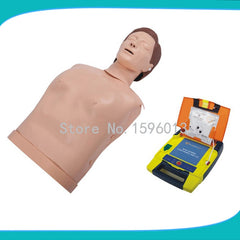 Automated External Defibrillator And Half Body CPR Training Manikin