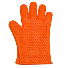 Microwave Oven Mitts Kitchen Heat Resistant Silicone Hand Glove