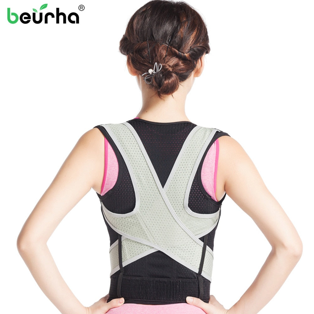 Back Support Belt Posture Corrector Braces Lumbar Support Straight Shoulder Tights