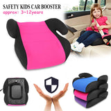 Car 3~12Y Baby Child Safety Car Booster Seat Multi-Function Thicken Chairs Cushion