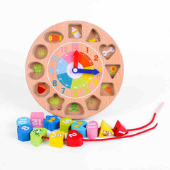Wooden Toys Shape Paired Blocks Toys
