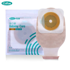 Cofoe 2/5/10 PCS Two-piece System Ostomy bag Drainable
