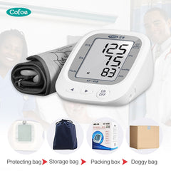 Automatic Upper Arm Blood Pressure Monitor Sphygmomanometer