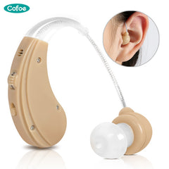 Rechargeable Hearing Aid for The Elderly