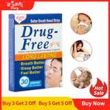 Drop Ship 30 Pieces/Box Better Breath Anti Snore Strips 55X16cm
