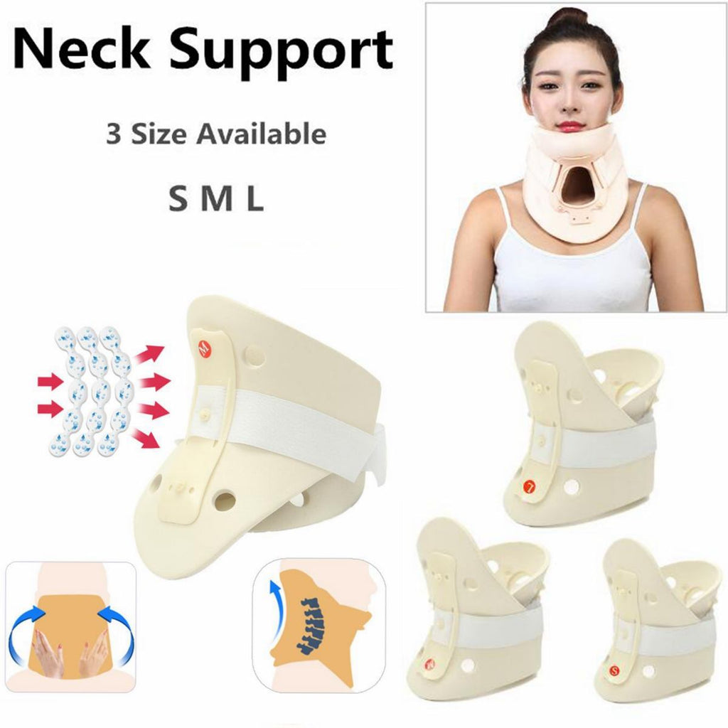 Durable Adjustable Soft Foam Neck Support Collar Immobilizer