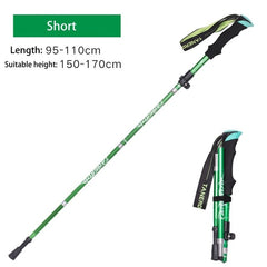 EVA Handle 4-Section Adjustable Walking Sticks Canes