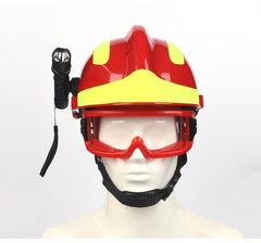 Emergency rescue helmet