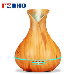 400ml Wood Grain Air Humidifier Aroma Diffuser