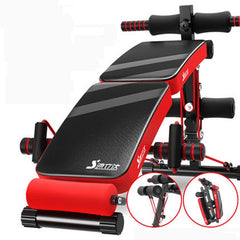 Folding multi-function supine board Bench