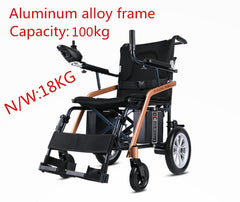 Electric power wheelchair