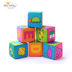 Blocks rattles letter animal  early development cognitive toy