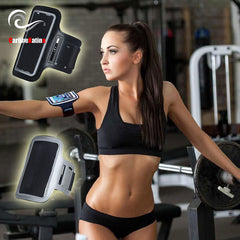Gray Waterproof Armbands Gym Running
