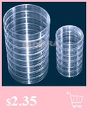 50Pcs 1.5ml Round Bottom Centrifuge Tubes