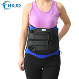 Back Support With Hard Plastic Board Support Lumbosacral Area And The Abdomen