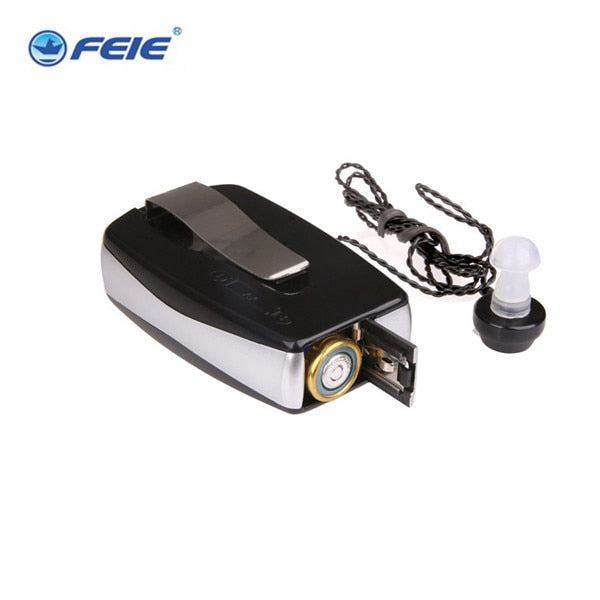 Hearing Aid Amplifier Pocket Style Adjustable Tone