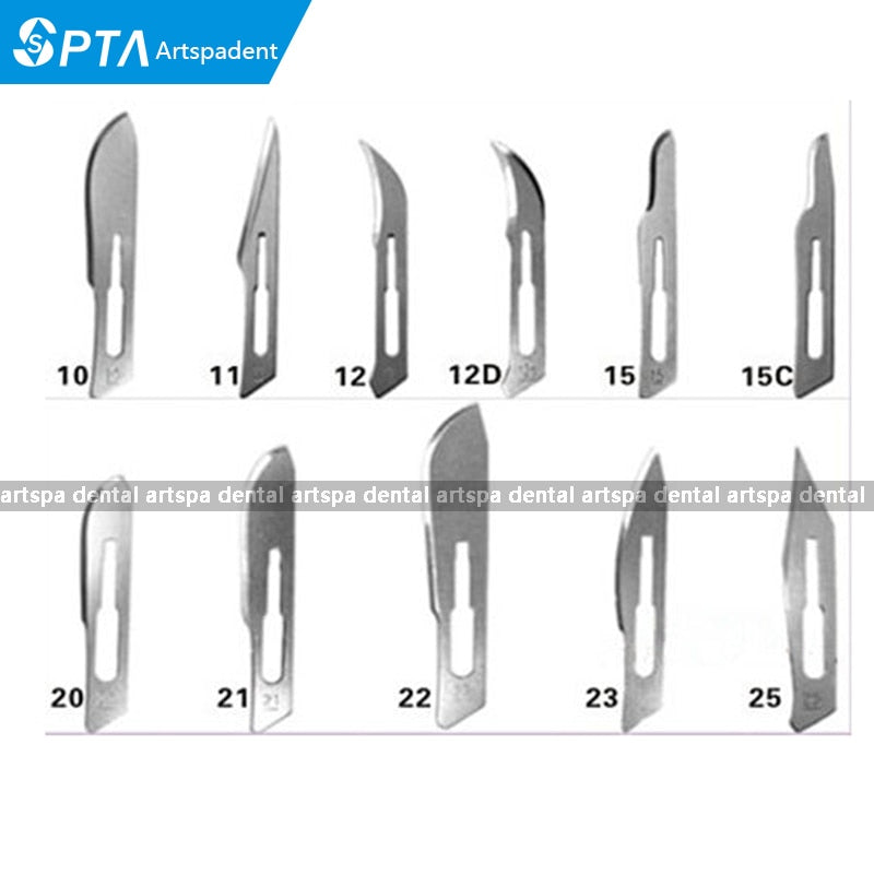 High Quality 100 Pcs Scalpel Blades For Dental medical