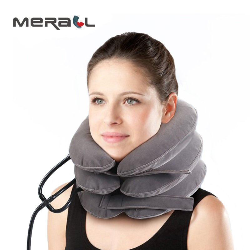 Cervical Traction Collar Medical Neck Support Brace