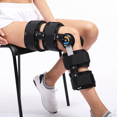 Hinged Knee Patella Brace Support Stabilizer