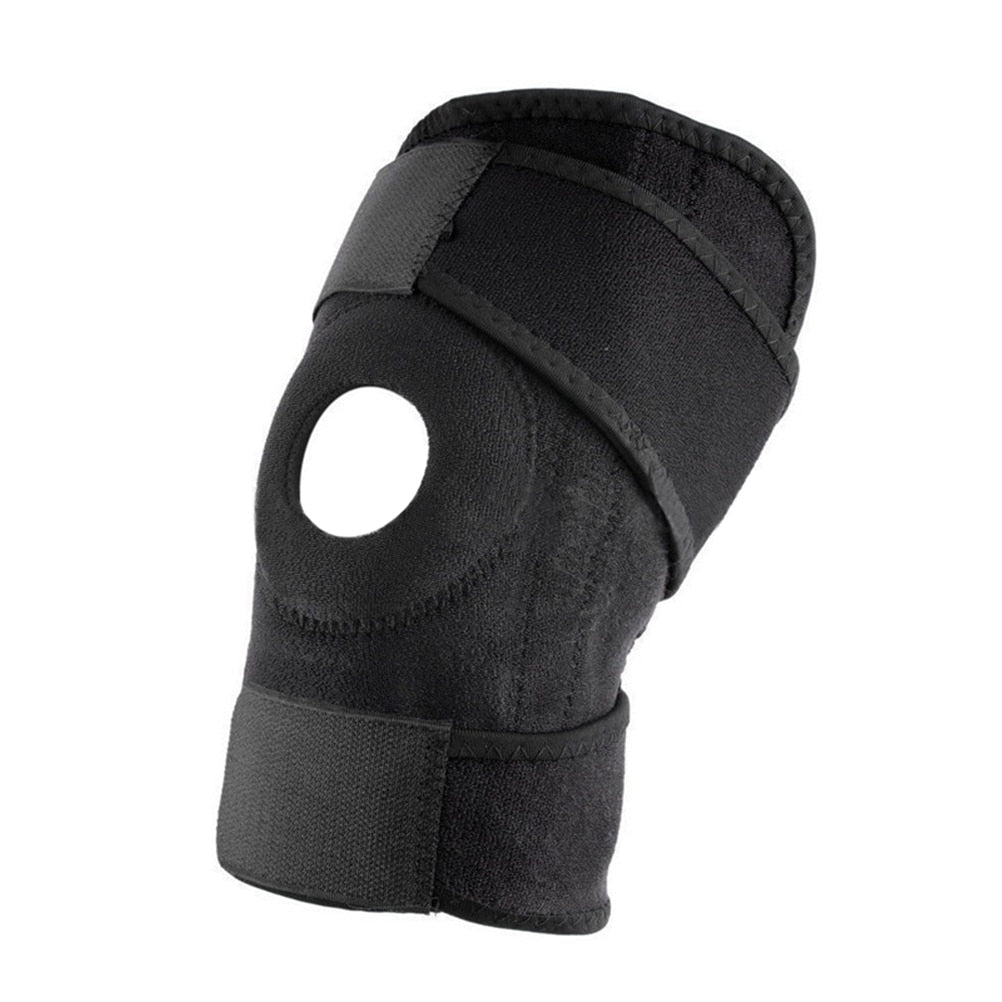 Knee Brace Support Sleeve Adjustable Open Patella Stabilizer