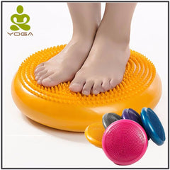 Large Size 34cm PVC Yoga massage cushion mat balancing