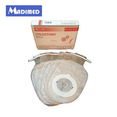 MADIMED One-Piece System Open Colostomy Ileostomy Bag