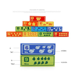 Classic Game Multicolor Stacking Blocks Zodiac Cognitive Toys