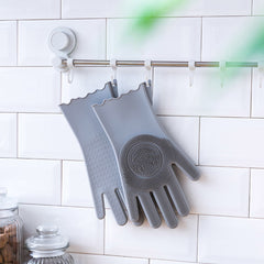 Multi-Functional Silicone Hand Gloves