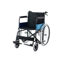 Multifuncional foldable manual wheelchair for elderly