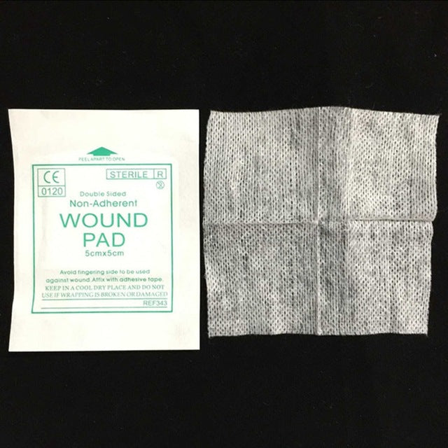 New 10 Pcs/lot Gauze Pad 100%  Cotton First Aid  Wound Dressing