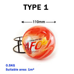 Automatic Fire Extinguisher Ball Self Activation