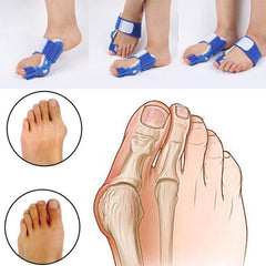 Hallux Valgus Orthotics Foot Pain Relief Splint Straightener