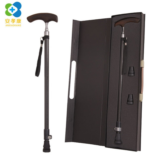 New Safe Reliable Old Man Crutches Ultralight High grade Carbon Fiber