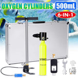 0.5L Oxygen Reserve Air Tank Set Portable