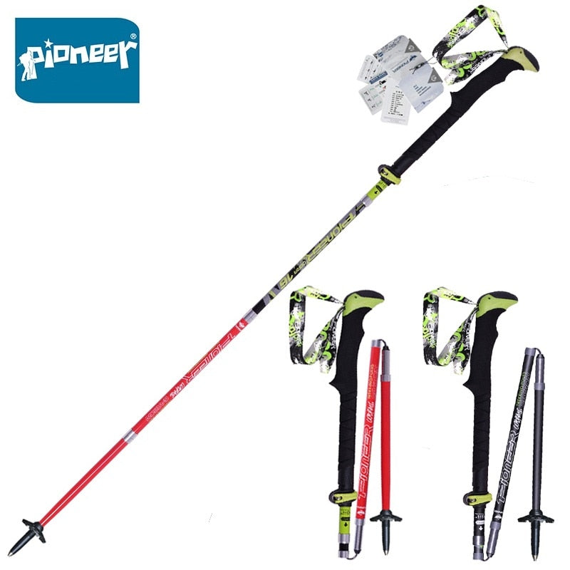 Carbon Fiber Ultralight Folding Collapsible Walking Sticks Canes