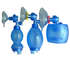 PVC Disposable Manual Resuscitator with Oxygen Tubing