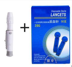 Cupping pen point blood lancet needle