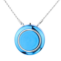 Personal Wearable Air Purifier Necklace/Mini Portable Air Freshner Ionizer