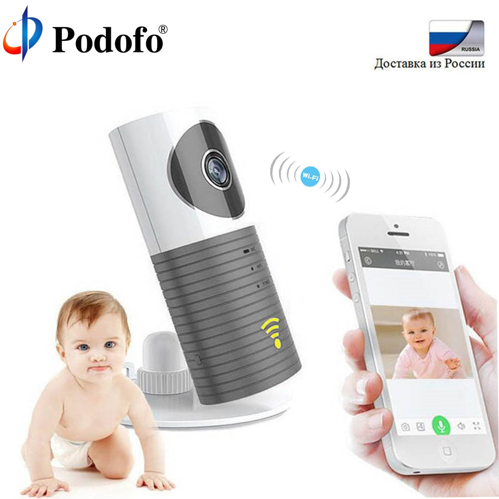 Wireless 720P Baby Monitor Intelligent Alerts Nightvision Intercom Support IOS Android