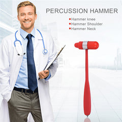 Portable Multifunction Neurological Aluminum Reflex Hammer
