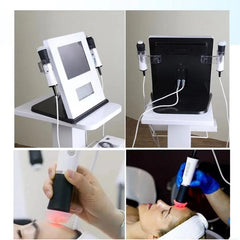 Portable oxygen facial machine
