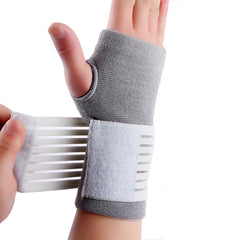 Carpal tunnel tennis wrist bandage brace support