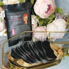 50pcs Nose Strips Black Mask
