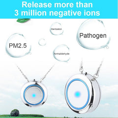 Mini Portable Air Freshner Ionizer