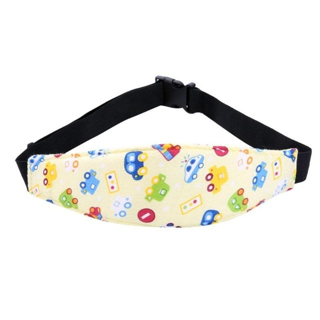 Safety Baby Kids Cart Car Seat Sleeping Security Fixed Strap Aid Head Band